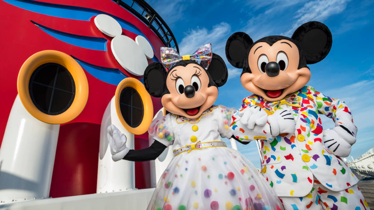 Disney Cruise Lines Minnie and Mickey Disney Fantasy