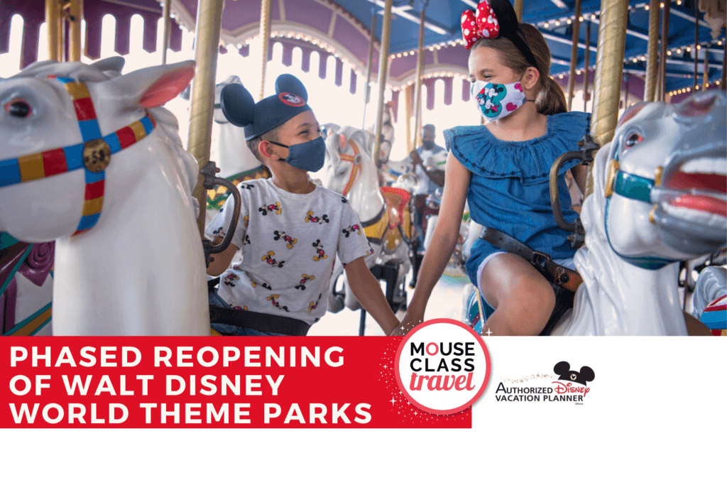 Attractions and Entertainment Details for Phased Reopening of Walt Disney World Theme Parks