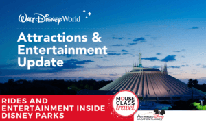 Attractions and Entertainment Update