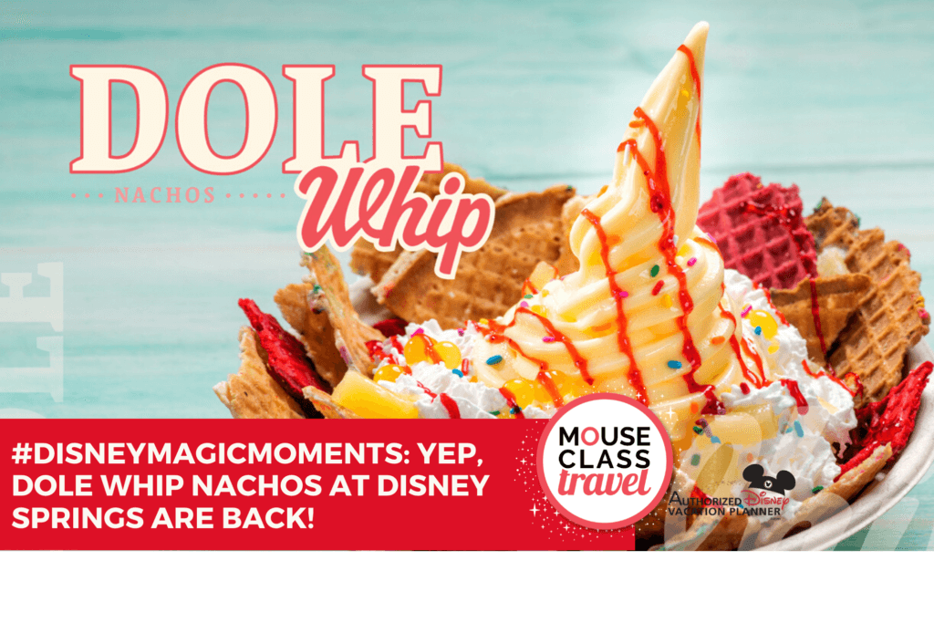 DOLE Whip Nachos at Disney Springs
