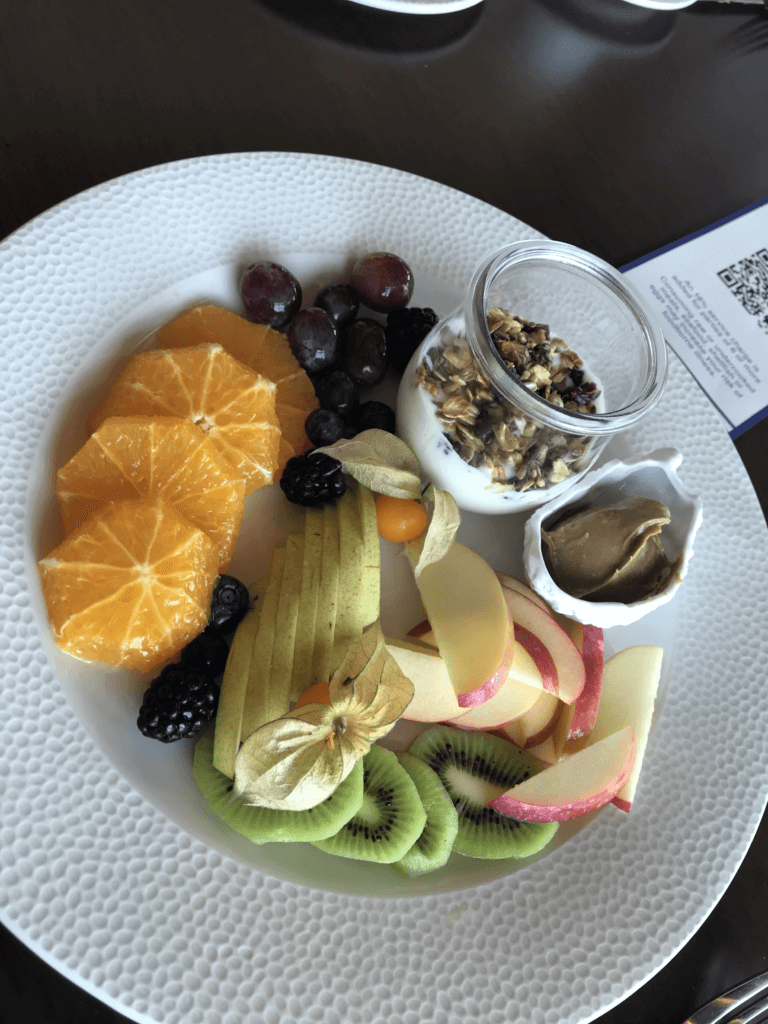 Adult Fruit Plate at Topolino's Terrace