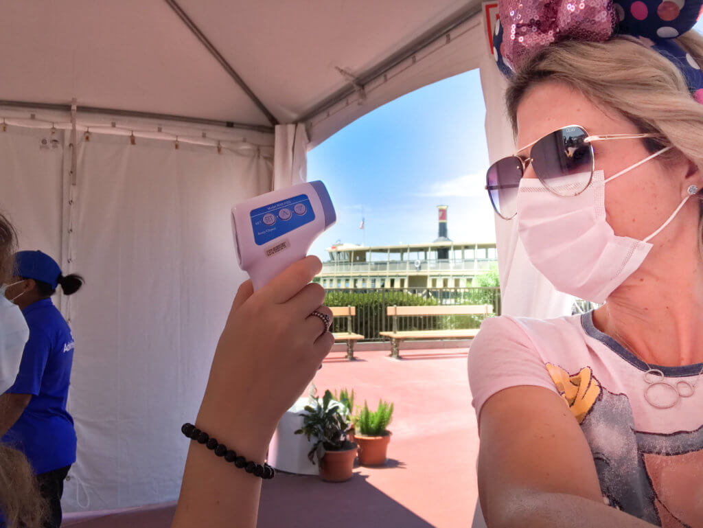 Temperature Check at Magic Kingdom