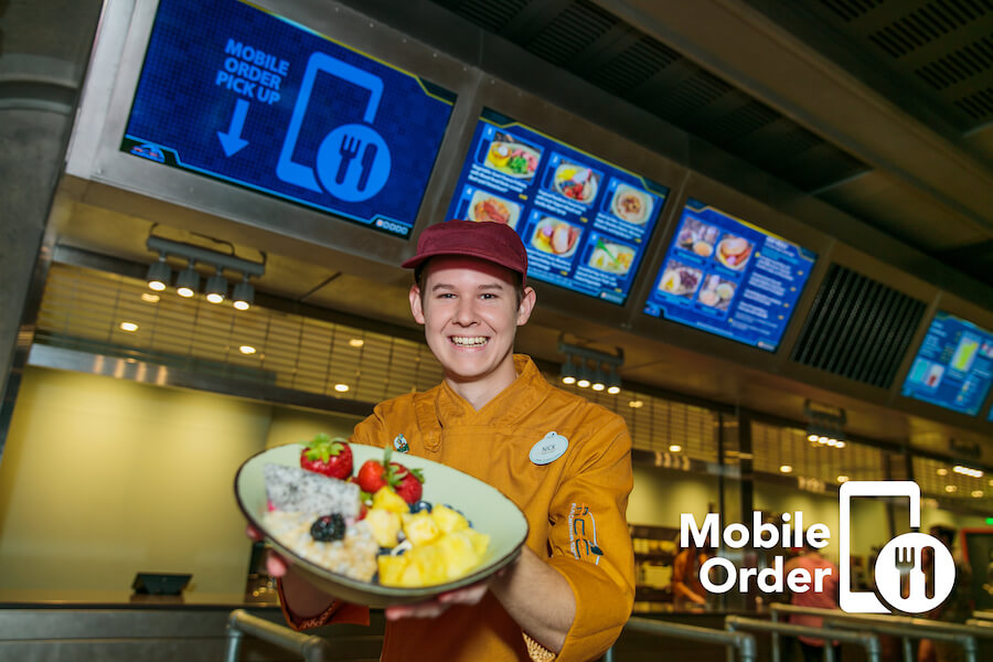Disney Quick Service Mobile Ordering